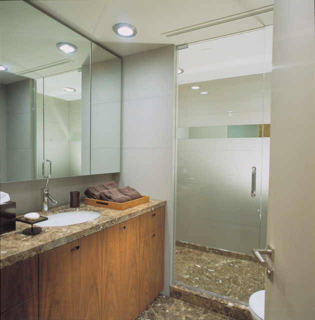 highland park contemporary-bathroom