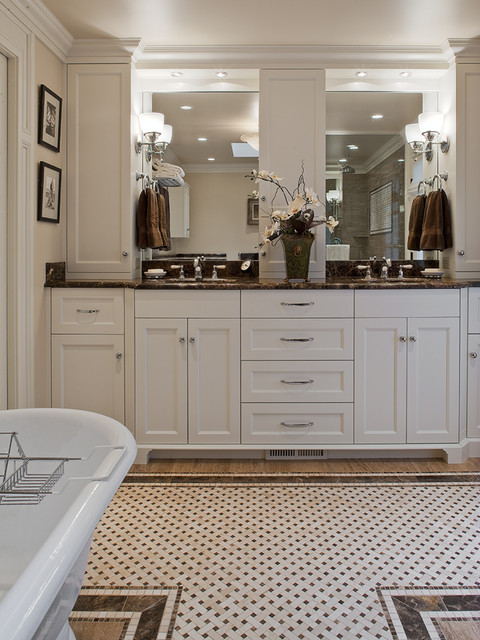 Highlands Remodel Traditional Bathroom Seattle By Adams Construction Services Inc