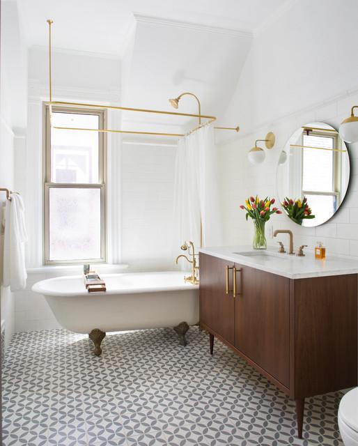 Highlands Renovation Traditional Bathroom Denver