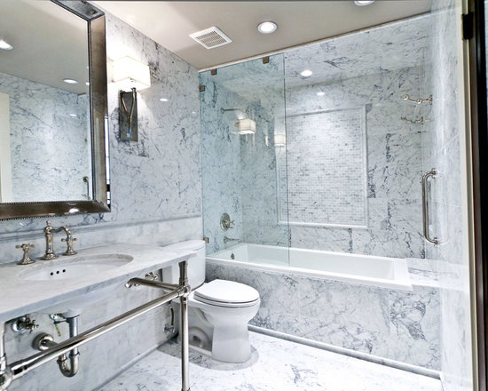 Small Drop In Bathroom Sink : Small Bathroom Bathroom Design Ideas, Pictures, Remodel & Decor with a ...