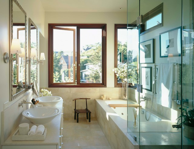 modern bathroom by Karin Payson architecture + design