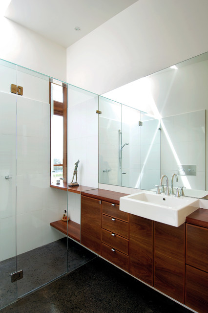 Hill House Modern Bathroom Melbourne By Mihaly