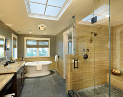 Hillside Estate contemporary bathroom
