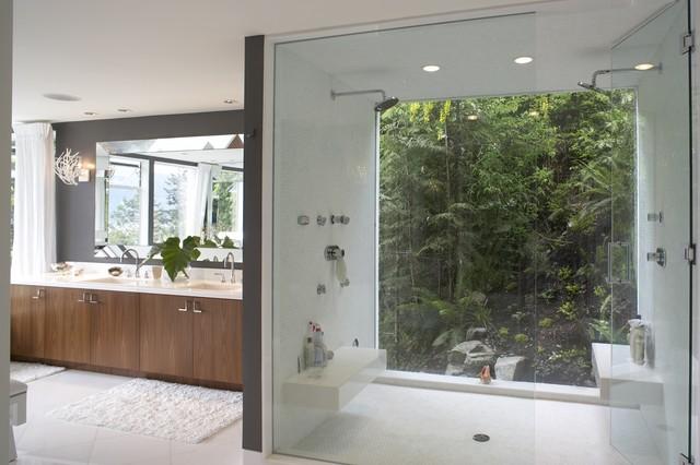 Hillside contemporary-bathroom