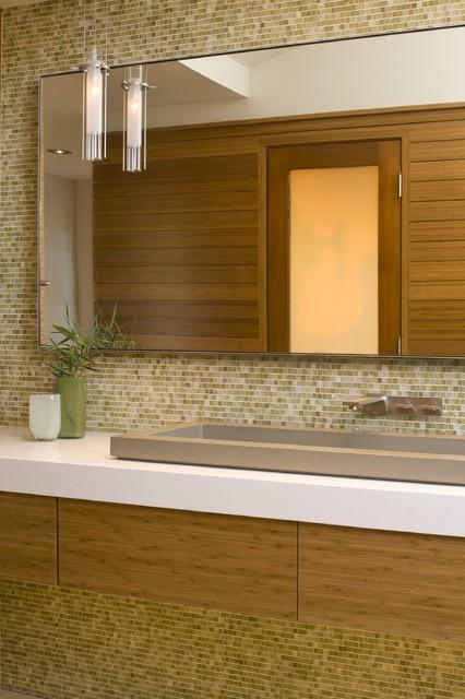 Hillside Residence modern-bathroom