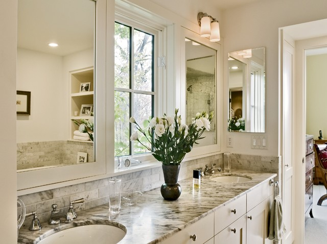 Hillside Residence Hanover NH contemporary-bathroom