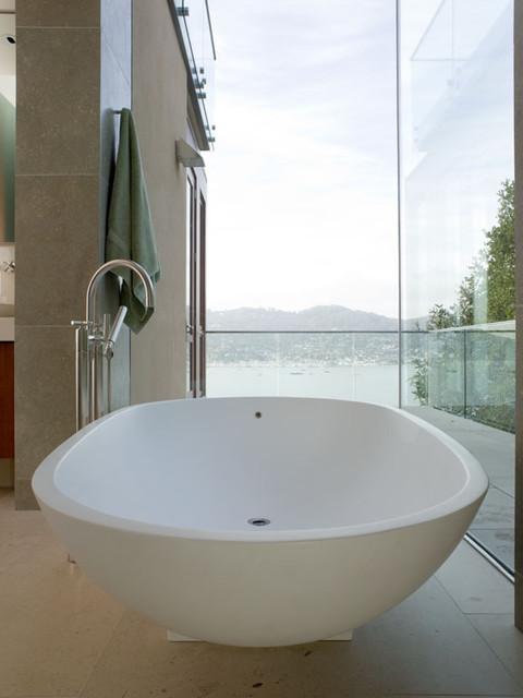 Hillside Residence rustic-bathroom