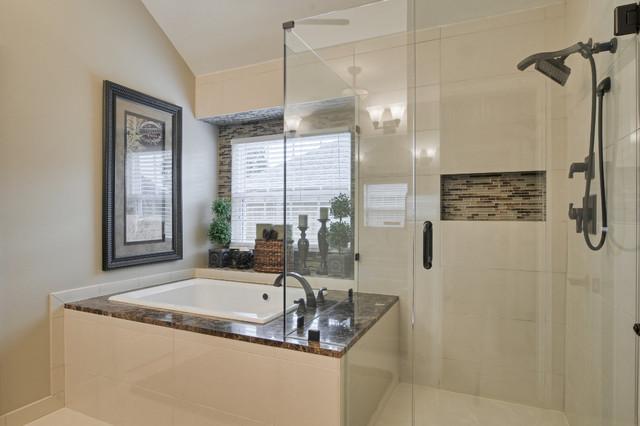 Hinojos Master Bathroom Transitional Bathroom Dallas