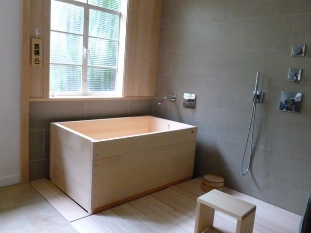 Bathroom Fixtures San Francisco hinoki bath tub - contemporary - bathroom - san francisco -
