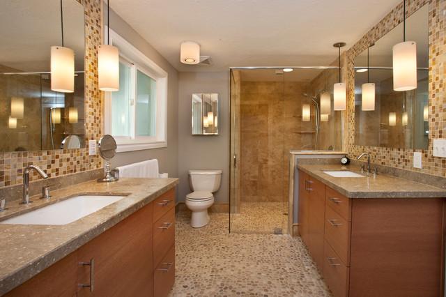 Walker zanger mizu tile pebble home design idea for Bath remodel boise