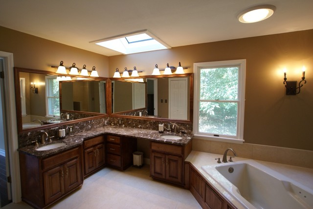 His And Hers Bathroom Traditional St Louis