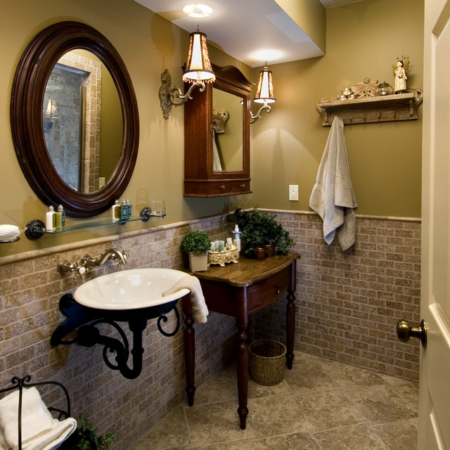 His and hers baths traditional bathroom other by for His hers bathroom decor