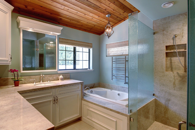 His and hers master bath for His and hers bathroom