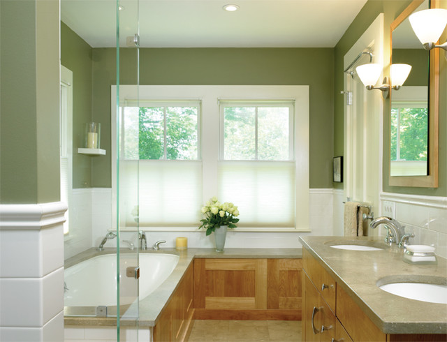 Historic Farm House Bath contemporary-bathroom