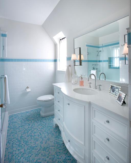 Historic Home in Phoenix, Arizona - Traditional - Bathroom - phoenix - by Vallone Design
