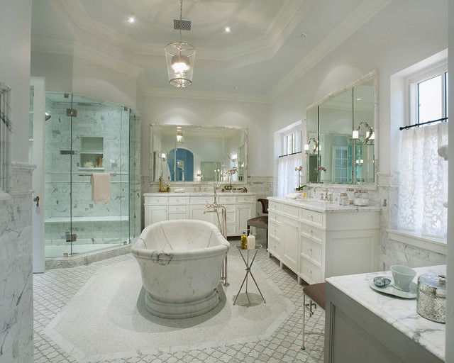 Historic Home In Phoenix Arizona Traditional Bathroom Phoenix By Vallone Design