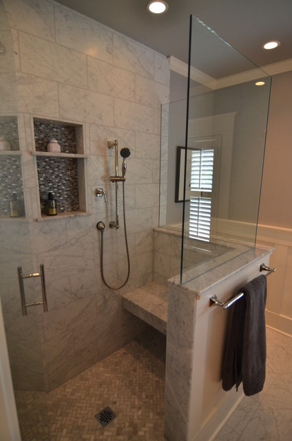 Historic Home Master Bath Remodel traditional-bathroom