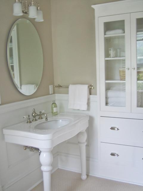 historic master bath traditional bathroom burlington by haven design building llc. Black Bedroom Furniture Sets. Home Design Ideas