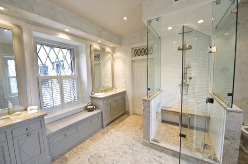Downlights Over Vanity : Historic Master Bath Remodel (West Chester, PA) ? More Info