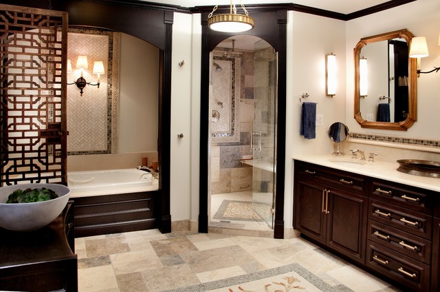 Historic Schoolhouse Loft Traditional Bathroom Chicago By Lisa Wolfe Design Ltd