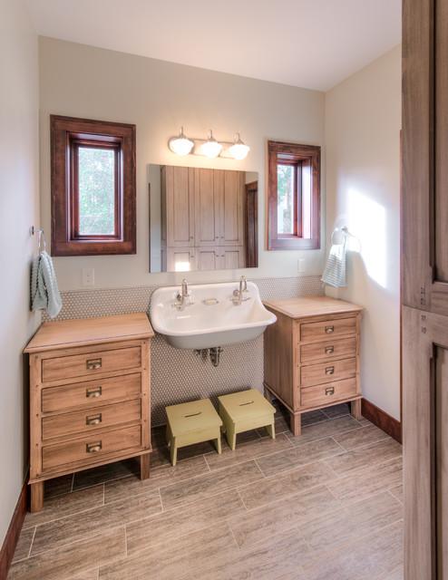 Best Transitional Bathroom by HighCraft Builders