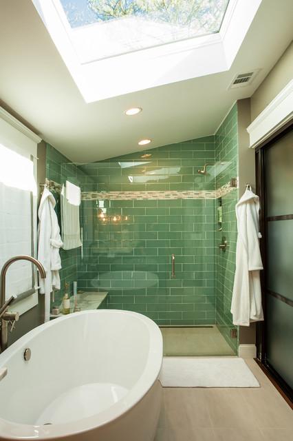 Historic Whole House Renovation Master Bath