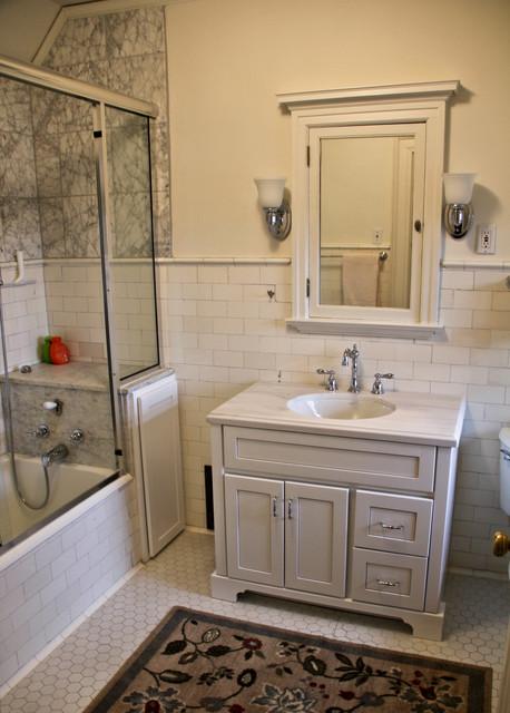 Historical Estate traditional-bathroom