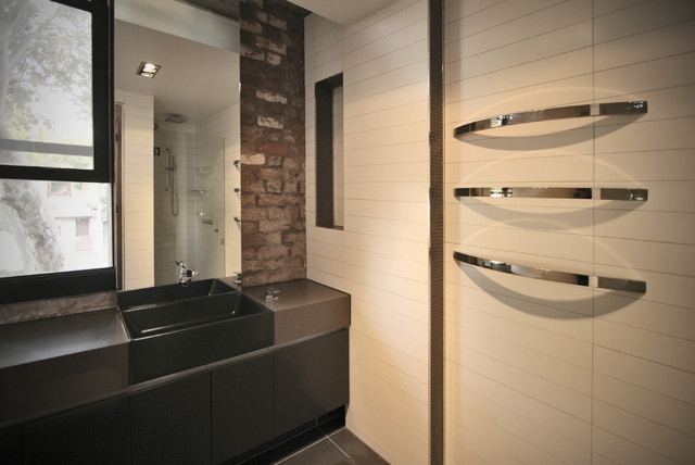 Hive Apartments Contemporary Bathroom Melbourne By Itn Architects