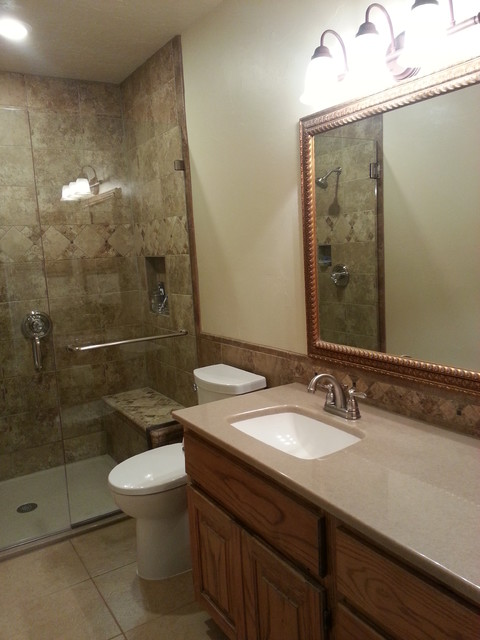 Ho 5x11 bathroom remodel traditional bathroom dallas for 5 x 4 bathroom designs