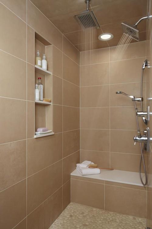 Black and beige bathroom ideas