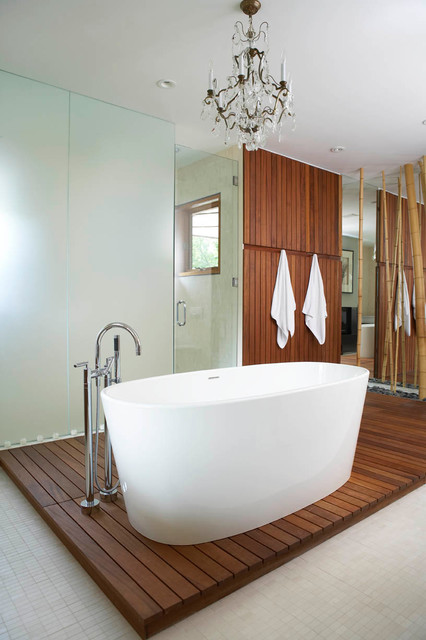 Hogs Hollow contemporary-bathroom