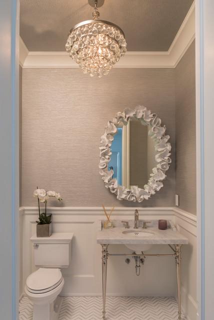 Holiday House Hamptons Contemporary Bathroom New