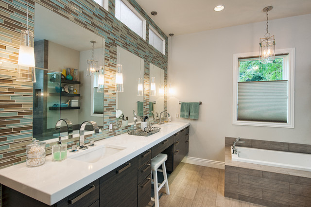 Holladay Master Suite Modern Bathroom Salt Lake City By Enzy Design