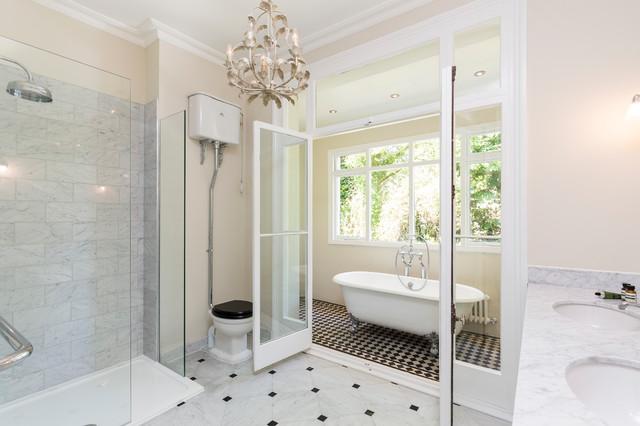 Holland Rd Victorian Bathroom London By Huntsmore