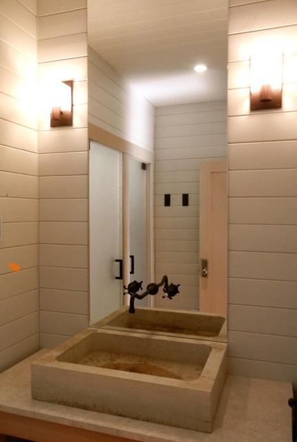 HOLLY BEACH HOUSE eclectic-bathroom