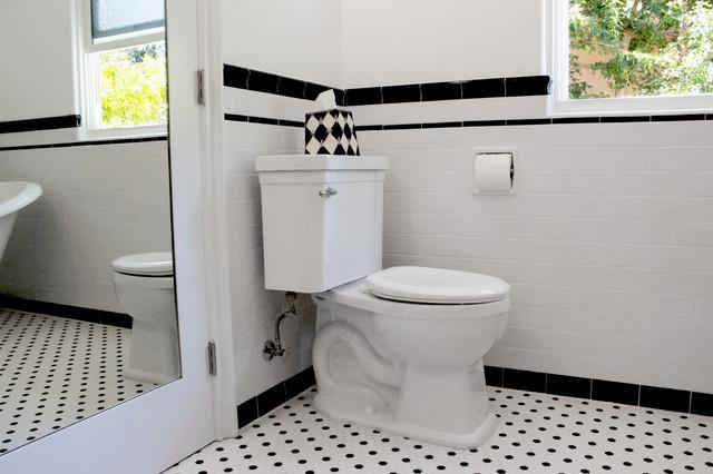 Hollywood Hills Art Deco Bathroom