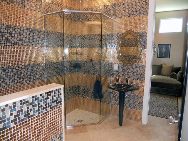 Hollywood Regency Beach House Contemporary Bathroom Orlando By All About You Ann