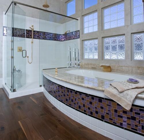 πολύχρωμα πλακάκια, μπάνιο, διακόσμηση μπάνιου
