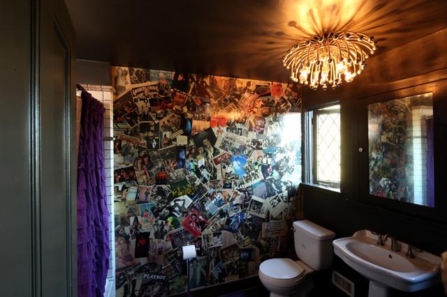Salle de bain rock n roll