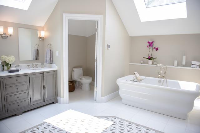 Holmdel NJ Master Bath - Shabby-Chic-Style - Badezimmer - New York ...
