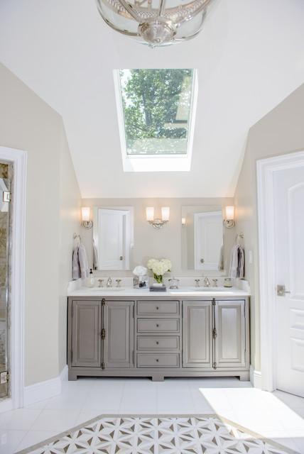 Holmdel NJ Master Bath Shabby Chic Style Bathroom New York By