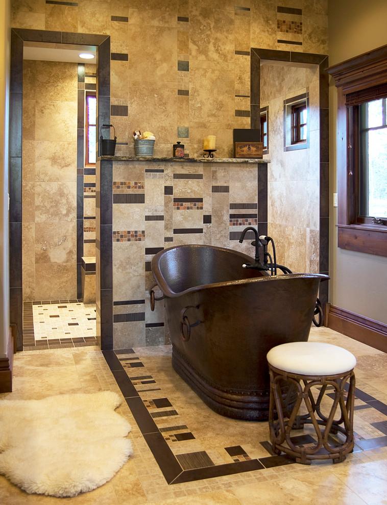 Elegant bathroom photo in Boise