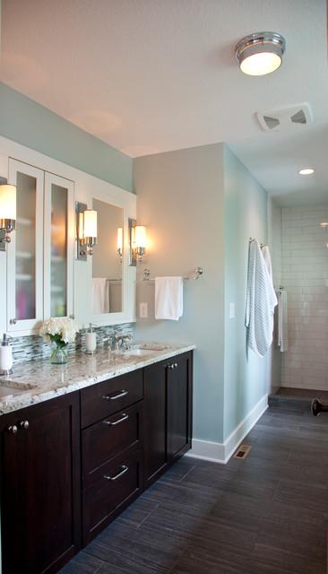 Home #2: TreHus Architects traditional-bathroom