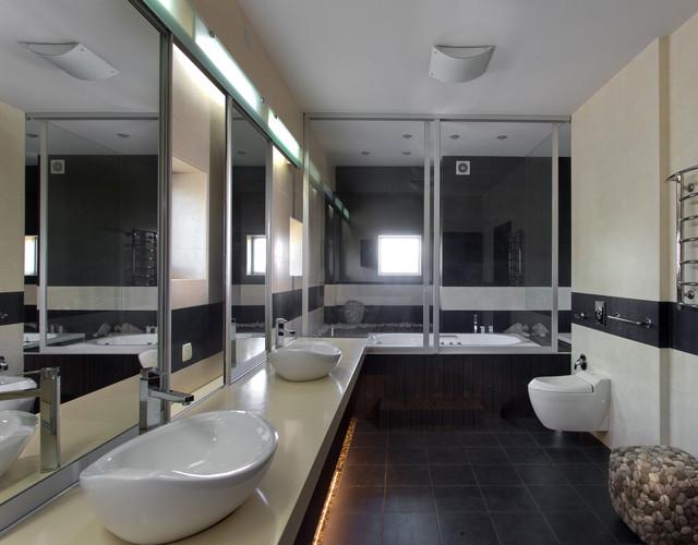 Home 2000m2 contemporary-bathroom