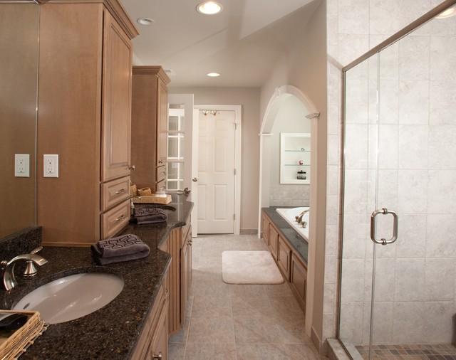 Home Addition in Randolph ** traditional-bathroom