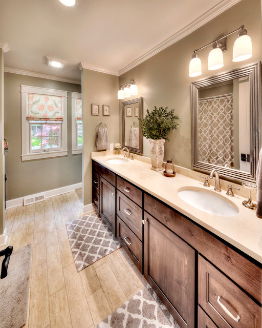 Home addition transitional bathroom kansas city by for Home decor 91711
