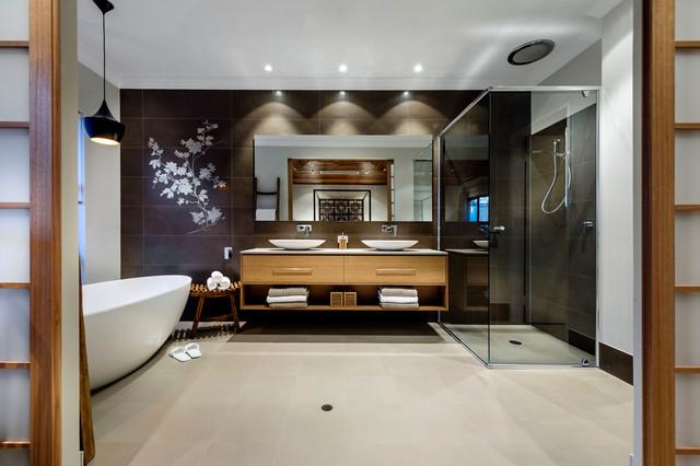 home design - the azumi - Salle De Bain Asiatique