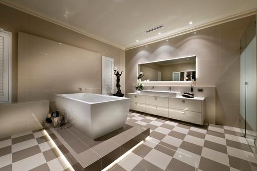 Bathroom Color Schemes Modern : Timeless bathroom color schemes