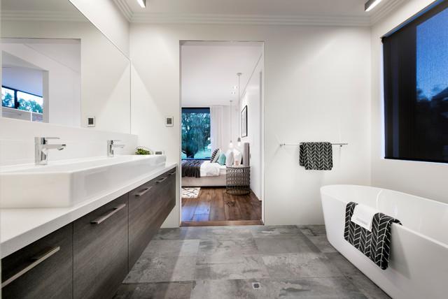 Home Design The Tribeca Industrial Bathroom Perth By Webb - Webb bathroom design