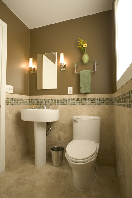 Home in corte madera contemporary bathroom san for Small bathroom designs you should copy